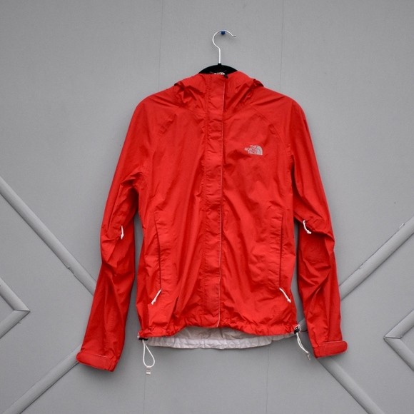 d9d615a2c Red Women's North Face Rain Jacket [size small]